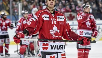 Der Lausanner Dustin Jeffrey (im Bild) war im Final Doppeltorschütze für das Team Canada