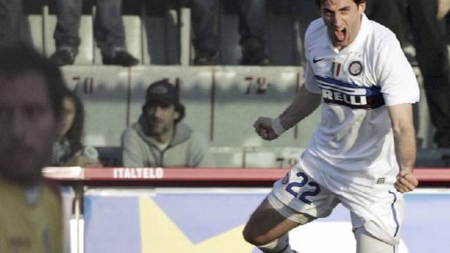 Diego Milito traf zum 1:0 für Inter