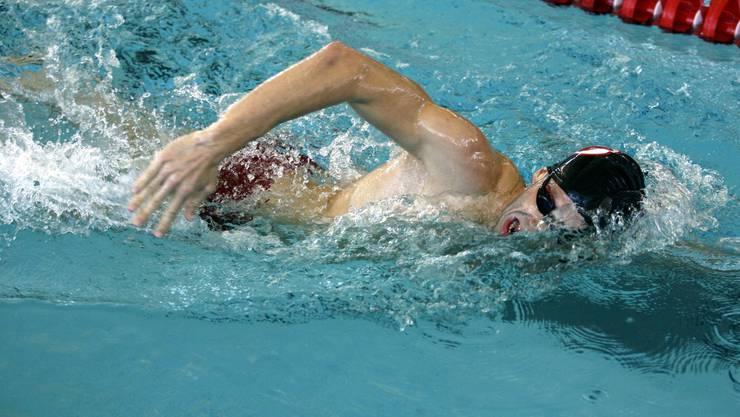 Marco Ferraro schwamm an den Nationals neben Michael Phelps