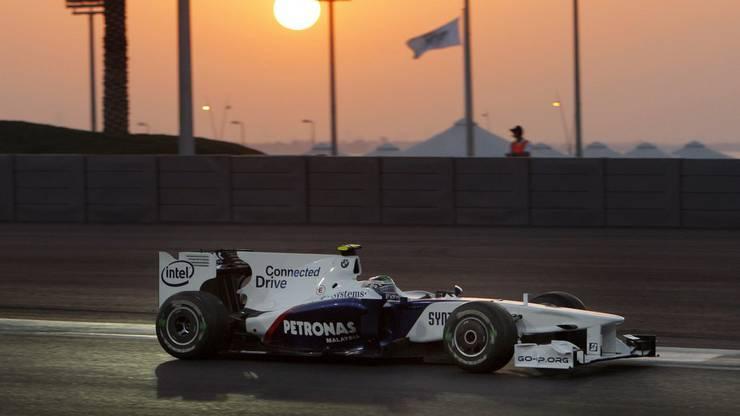 Im Bild: der BMW Sauber F1.09; Fahrer: N. Heidfeld (GER), R. Kubica (POL)