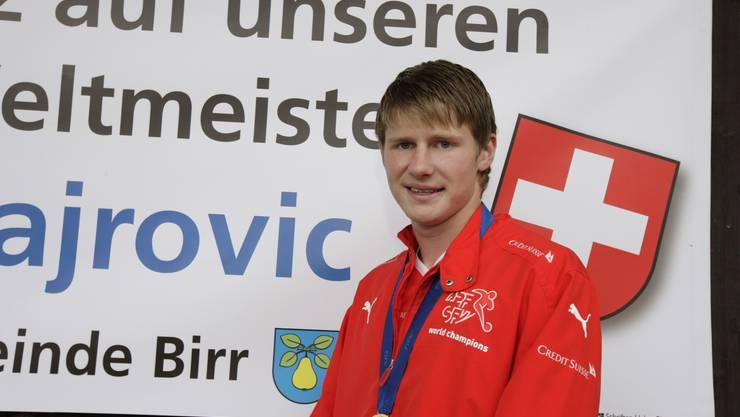 U17-Weltmeister mit der Schweiz