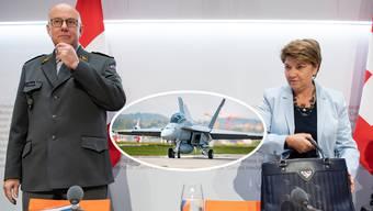 Amherd zu Kampfjet