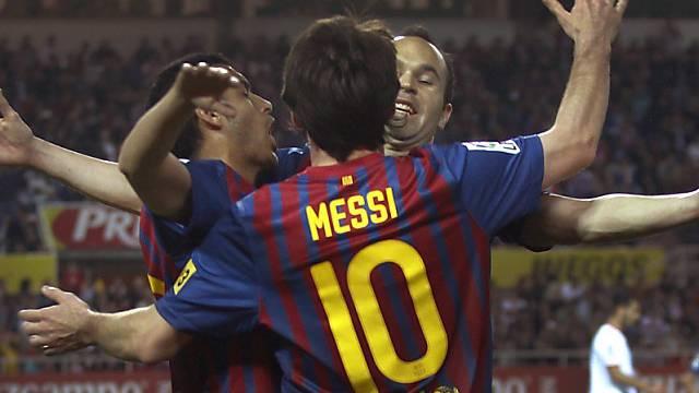 Lionel Messi traf auch gegen den FC Sevilla