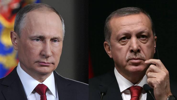 Gas-Pipeline und Dauerkrise in Libyen: Darüber reden die zwei Staatschefs Erdogan und Putin an ihrem Treffen in Istanbul.