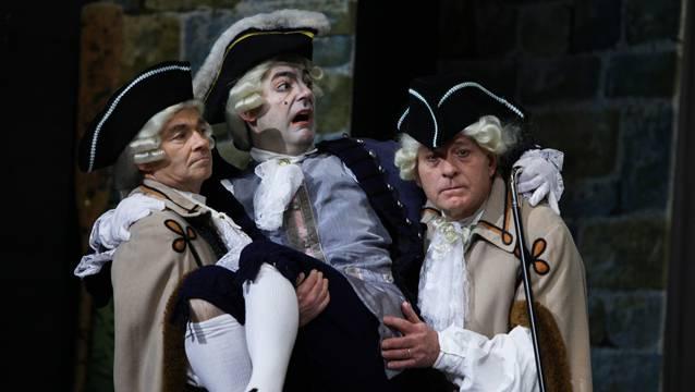 Diese ehrenwerten Herren hatten 2010 im Zigeunerbaron ihren Autritt auf der Löwenbühne.