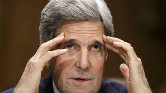 John Kerry äussert sich zum Friedensprozess im Nahen Osten
