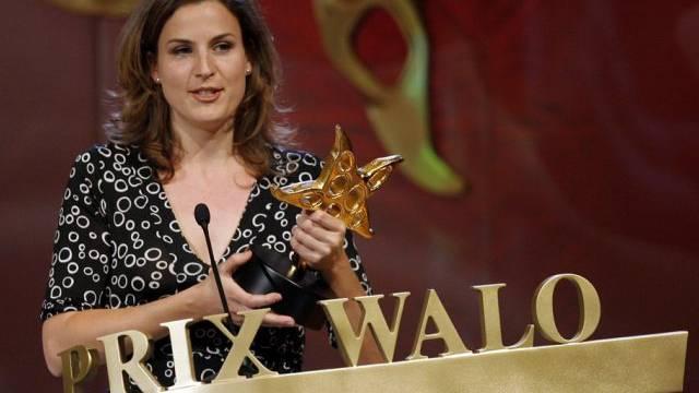 Cornelia Boesch bei der Verleihung des Prix Walo (Archiv)