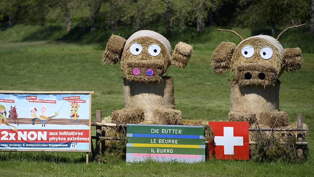 Zwei Bürgerbewegungen laufen mit Landwirtschaftsinitiativen auf