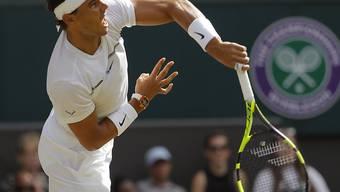 Rafael Nadal steht erstmals seit 2014 wieder in den Achtelfinals von Wimbledon