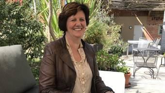 Seit 2006 für die CVP im Nationalrat und dreimal mit Glanzresultaten wiedergewählt: Ida Glanzmann-Hunkeler in ihrem Garten in Altishofen.