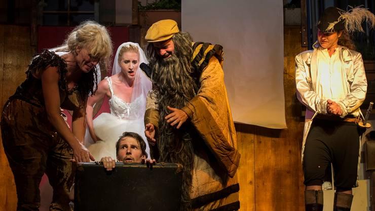 Auch für das laufende Sommertheater «Die Lügner» hat es keine Produktionsbeiträge gegeben.