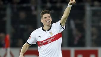 Ist in Stuttgart wieder erstarkt: Stürmer Mario Gomez