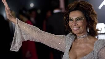 Film-Diva Sophia Loren  (Archiv))