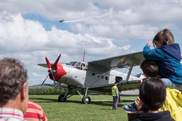 Mit der Antonov AN-2 mitfliegen, das war an den Flugtagen möglich.
