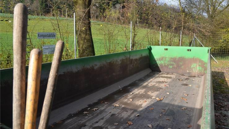 Die Gemeinde Beinwil wird die Grüngutdeponie «Holzweid» beibehalten. ES