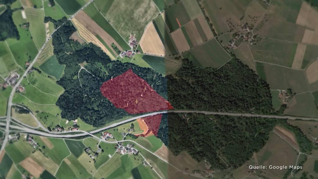 Gnadenfrist für Abfalldeponie zwischen Gossau und Grüningen