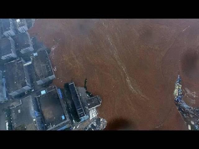 Zahlreiche Vermisste nach Erdrutsch in China