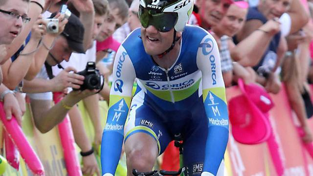 Pieter Weening Sieger der 9. Giro-Etappe