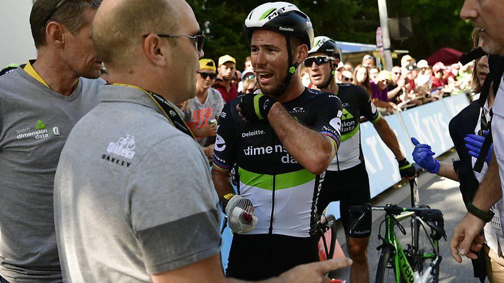 Tour-Aus für Sturz-Opfer Cavendish