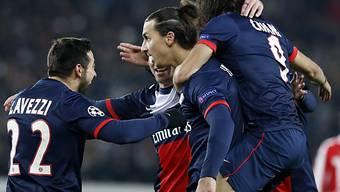Ibrahimovic brachte PSG früh in Führung.