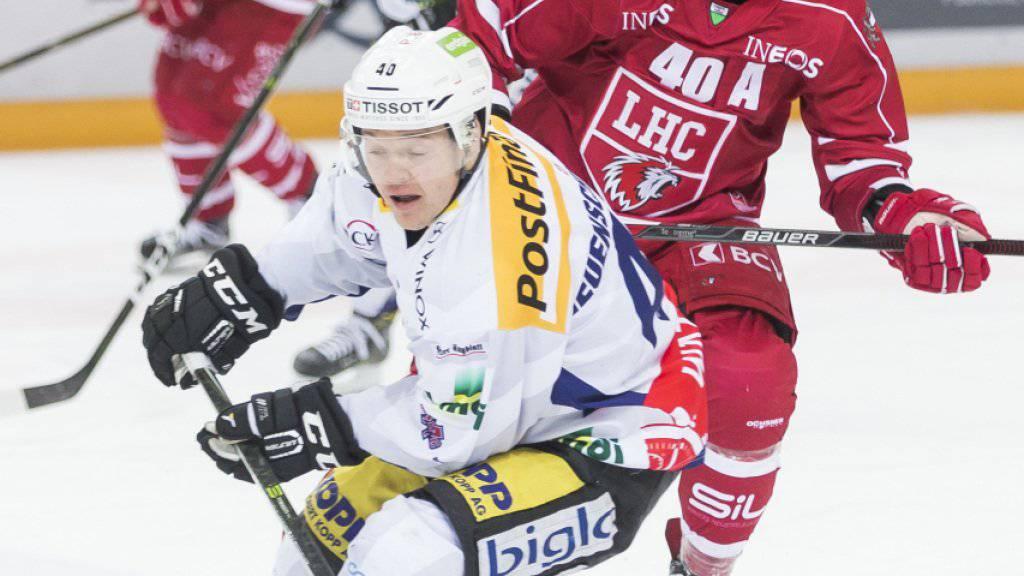 Jan Neuenschwander, zuletzt Captain ad interim, wird dem EHC Biel in den nächsten vier bis sechs Wochen nicht zur Verfügung stehen