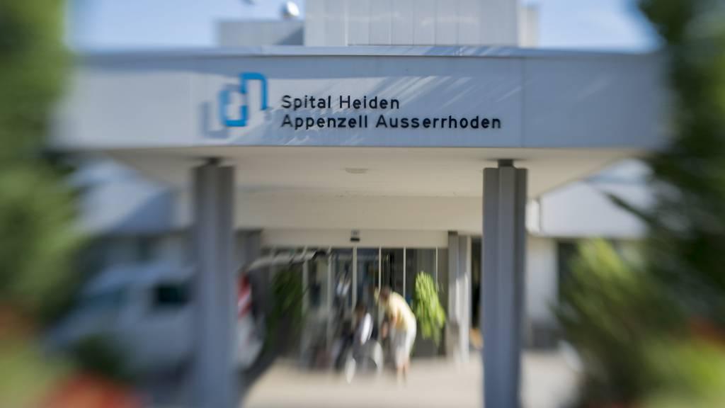 Das Spital Heiden wird umstrukturiert.