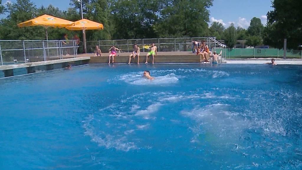 «Manche Besucher spürten ein leichtes Kribbeln im Wasser»