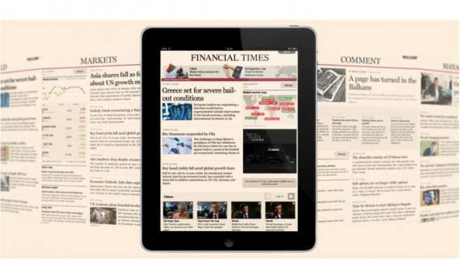 Führte als eine der ersten Zeitungen 2007 eine Paywall ein: «Financial Times». Bild: HO