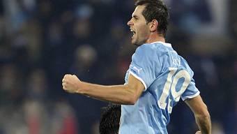 Senad Lulic traf für Lazio zum zwischenzeitlichen 2:2-Ausgleich