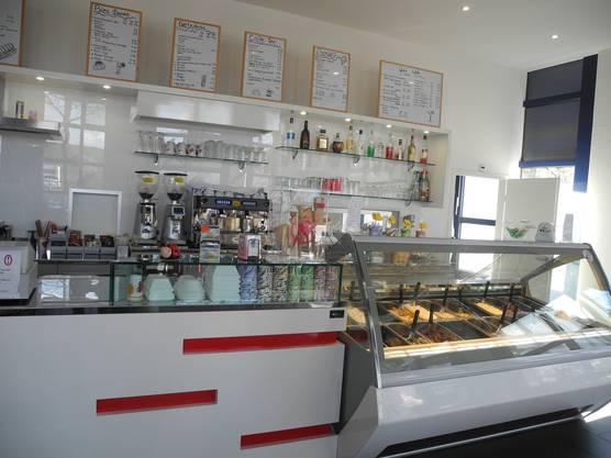 Nach Ostern wird die Auswahl in der Gelateria Bar Italiana noch grösser.
