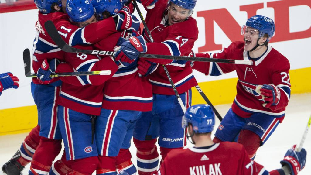 Montreal Canadiens mit «Sweep» im Halbfinal
