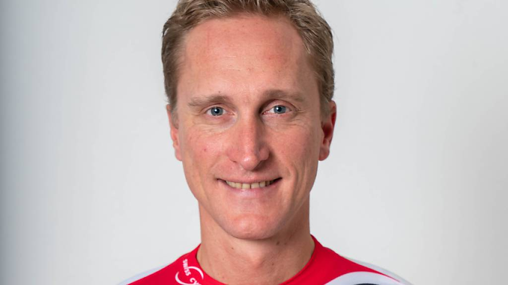Enrico Gasparotto nach seinem Nationenwechsel im Dress von Swiss Cycling