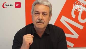 Zum 1. Mai 2020 machen der Gewerkschaftsbund Kanton Solothurn und die SP in einem Video auf aktuelle Probleme aufmerksam