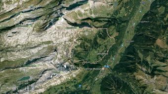 In den Glarner Alpen abgestürzt: Gestartet war das in Deutschland registrierte Flugzeug in Donaueschingen in Baden-Württemberg, unterwegs zum Zielort Albegna in Italien.