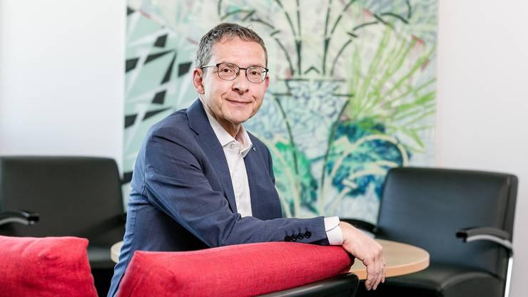 Urs Hofmann, Regierungsrat und Landammann 2019.