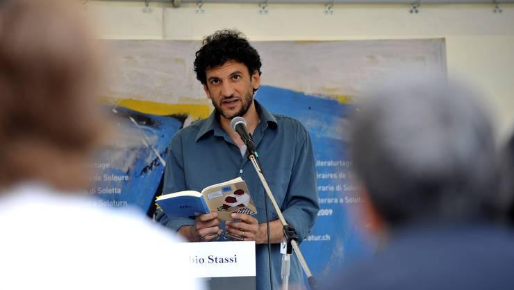 Fabio Stassi las auf Italienisch.