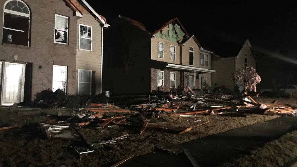 Tornados wüten im Südosten der USA