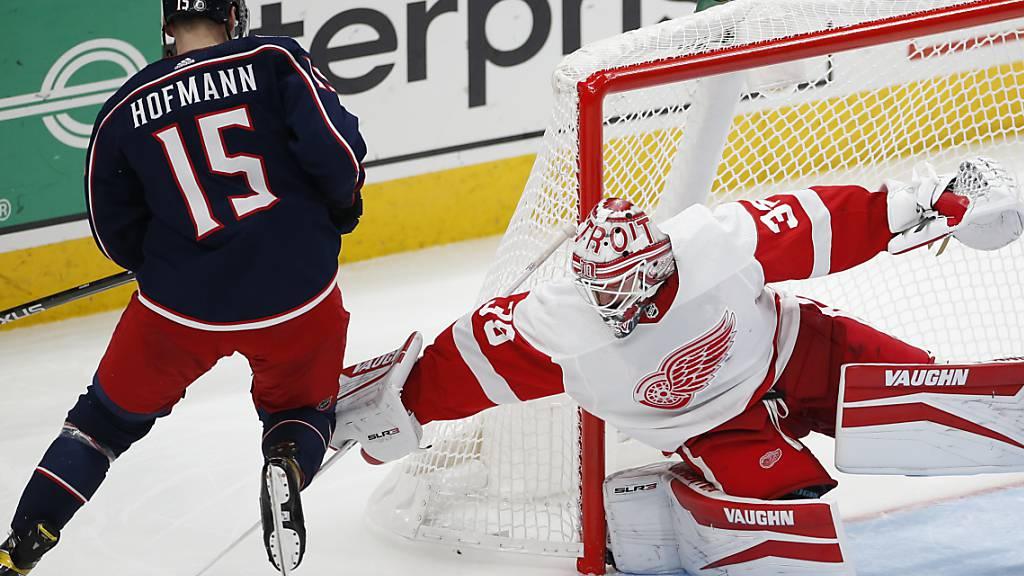 Grégory Hofmann mit erstem Skorerpunkt in der NHL