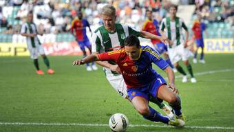 Der FC Basel gewinnt gegen Flora Tallinn mit 2:0