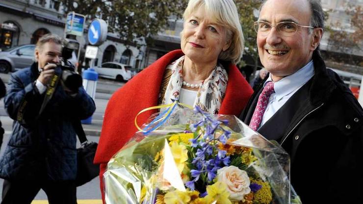 Die beiden bisherigen Ständeräte, die nicht mehr antreten: Verena Diener und Felix Gutzwiller