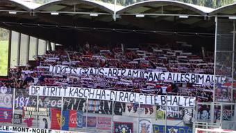 Die Botschaft der FCB-Fans an Constantin: «Den Eintritt kannst du haben, dein Raclette behalten.»