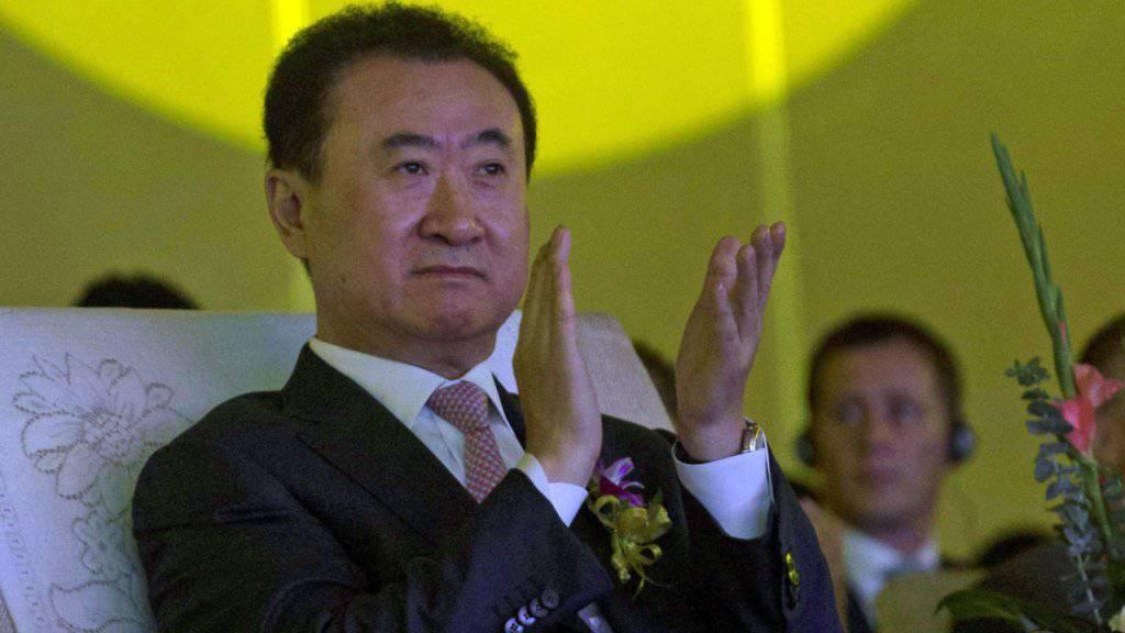 Wang Jianlin, Besitzer von Wanda und reichster Chinese, will in den USA zukaufen (Archivbild).