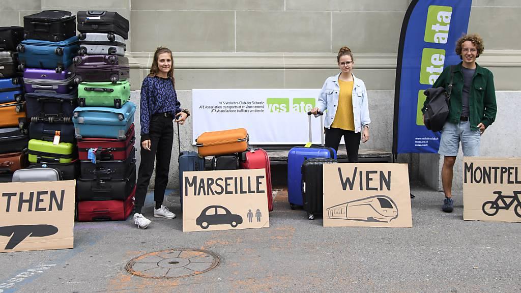 Schulkassen reisen möglichst klimaneutral um die Wette