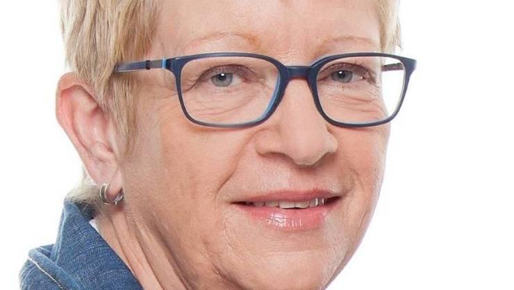 Ursula Rüegg, die Stadtratskandidatin der SVP.