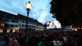24 Filme wurden dieses Jahr auf dem Münsterplatz gezeigt. (Archiv)