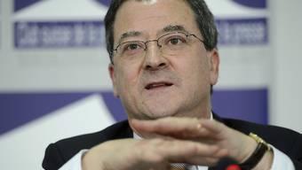 EDA-Staatssekretär Yves Rossier ist in den vergangenen Tagen in den Irak gereist. (Archiv)