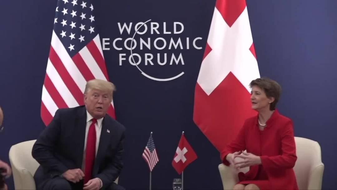 US-Präsident Trump will mit Schweiz über Handelsabkommen verhandeln