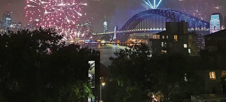 Sorgte für Zündstoff: das Silvester-Feuerwerk in Sydney.