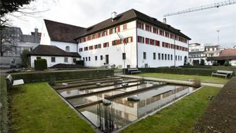 Während der Bauzeit würde hier ein riesiges Loch klaffen: Klostergarten des Kapuzinerklosters in Olten.