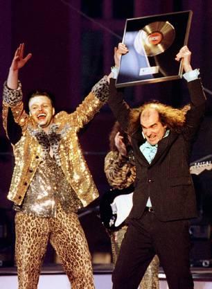 "Mit dem Song ""Guildo hat euch lieb"" erreichte Stefan Raab alias Produzent Alf Igel 1998 mit dem Sänger Guilo Horn am Eurovision Song Contest den 7. Platz."